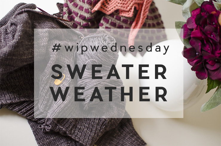 WIP Wednesday | Sweater Weather!