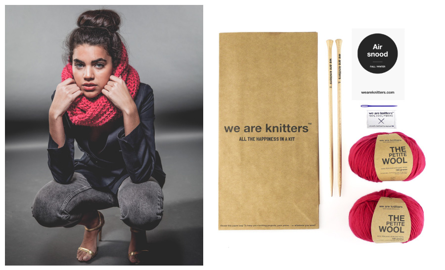 Holiday Gift Guide 2015 | Newbie Knitter Gifts - Guide to Knitting - WAK Air Snood Kit