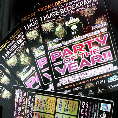 Foil Flyer Printing, Print the Rainbow in Full Color Foil on Thick