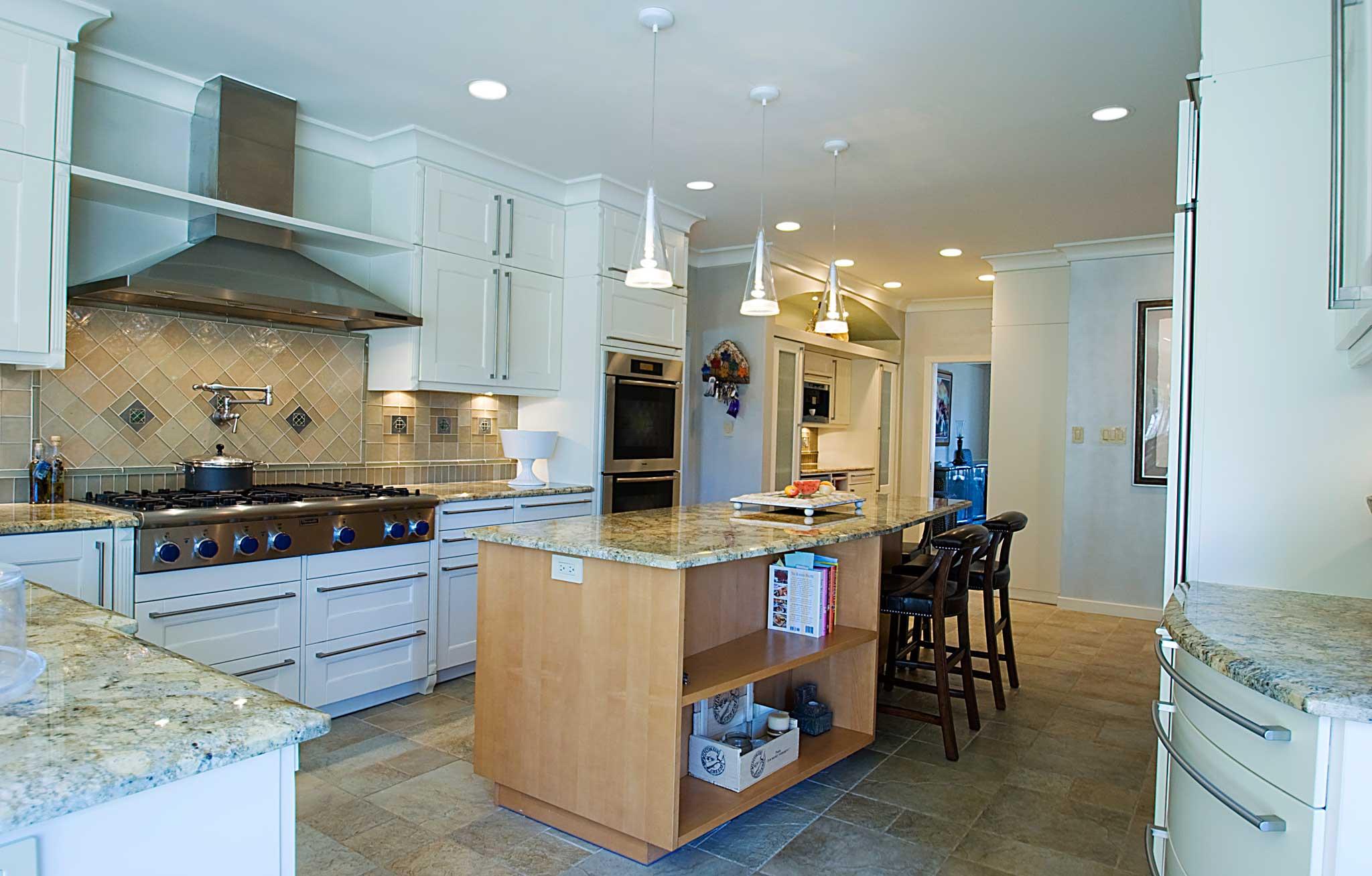 kitchen remodeling portfolio kitchen remodeling rockville md Modern White Kitchen in MD