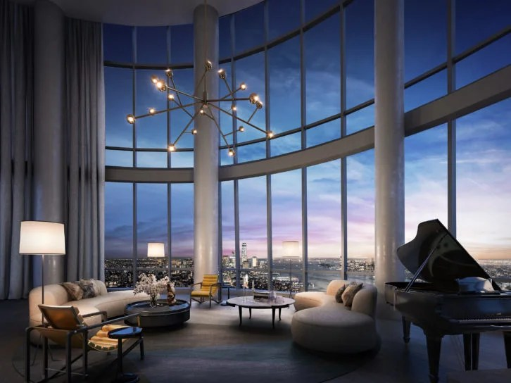 3d Wallpaper Futurist New Penthouse Unveiled At Fifteen Hudson Yards Nyc Elite