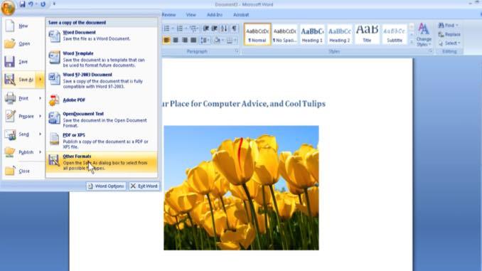 Using Microsoft Word to Create a Website \u2013 Eli the Computer Guy