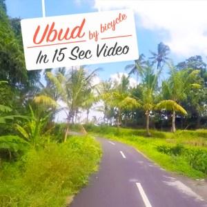 Ubud_Bicycle-Video