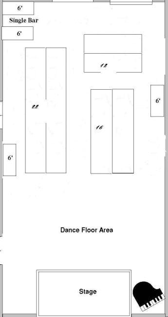 Choosing a Floor Plan for your Wedding Reception
