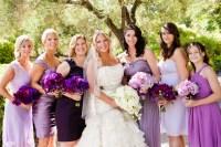 Lavender and Purple Bridesmaids Dresses - Elizabeth Anne ...