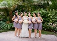 Lavender One Shoulder Bridesmaids Dresses - Elizabeth Anne ...