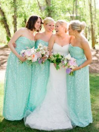 Seafoam Bridesmaids Dresses - Elizabeth Anne Designs: The ...