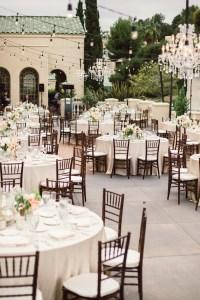 Elegant Outdoor Wedding Reception - Elizabeth Anne Designs ...
