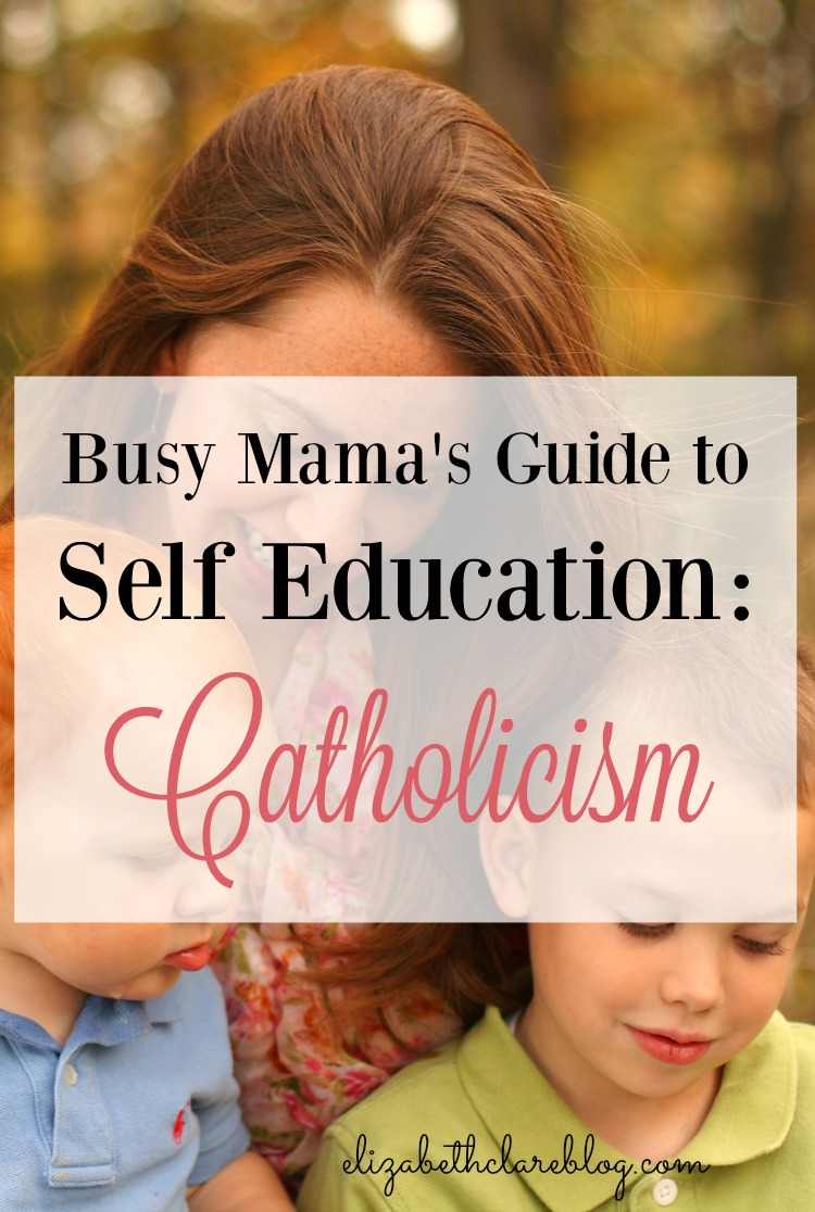 Busy Mama's Guide to Self Education:  Catholicism