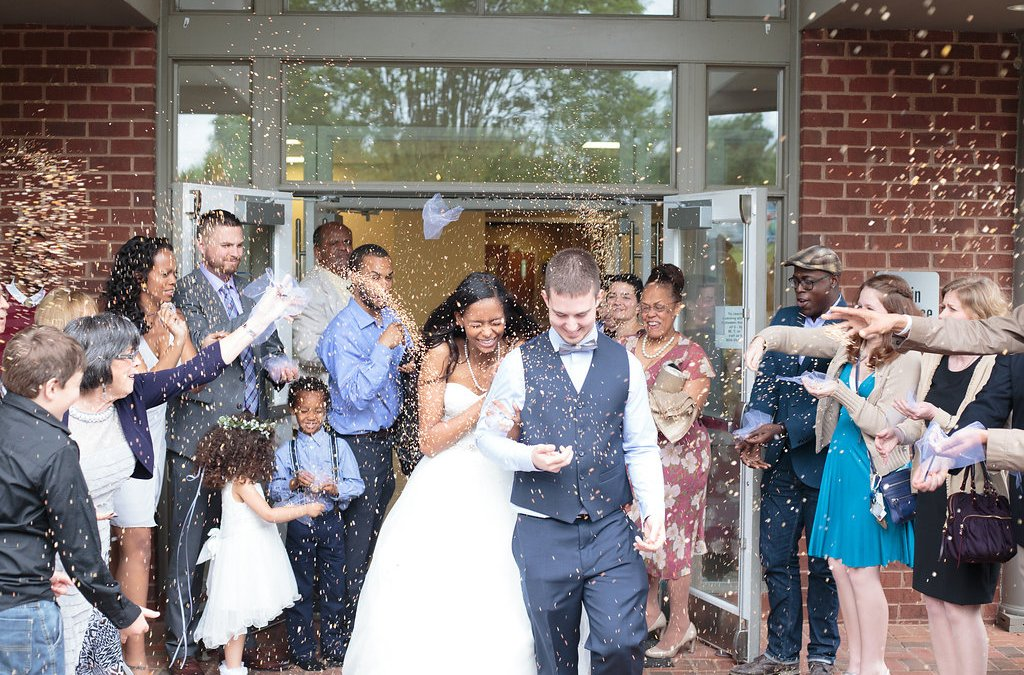 Maria and Christopher's classic Richmond wedding
