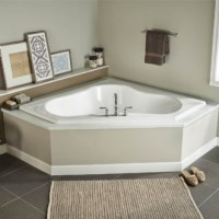 Eljer - Gemini 60 Inch by 60 Inch Corner Soaking Tub ...