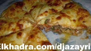 الطبخ الجزائري العصري :فطيرة باللحمة والجبن
