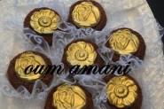 حلويات جزائرية :قاطو بالكاوكاو والنواد كوكو
