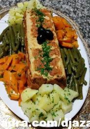الطبخ الجزائري العصري :  كفتة الدجاج بشكل راقي و جديد