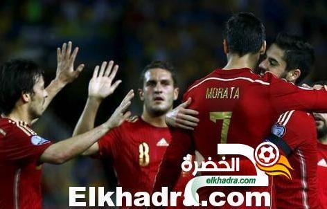 يورو 2016 : المنتخب الاسباني يفوز على ضيفه المنتخب الاوكراني بهدف موراتا