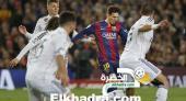 برشلونة يفوز على ريال مدريد بنتيجة 2-1 في كلاسيكو الأرض
