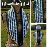 Mountain Mist Crochet Scarf by ELK Studio