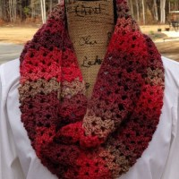 Sunset Scarf - A Fun Crochet Scarf Pattern!