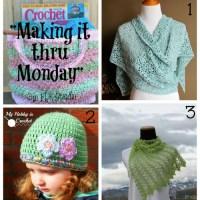 """Making it thru Monday"" Crochet Review #85"