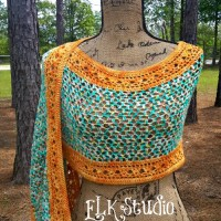 Tropical Delight Summer Shawl!