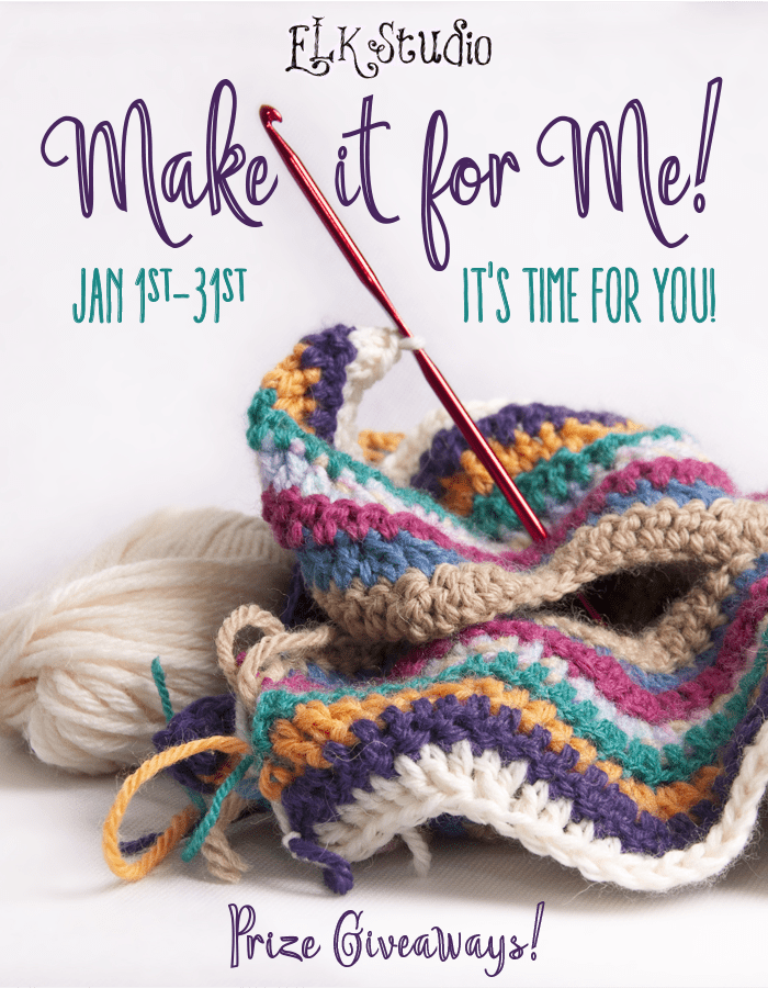 Make it for Me Presented by ELK Studio! Get FREE patterns and chances to win prizes with wonderful giveaways!