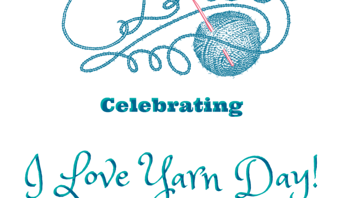 I Love Yarn Day ELKie Style!
