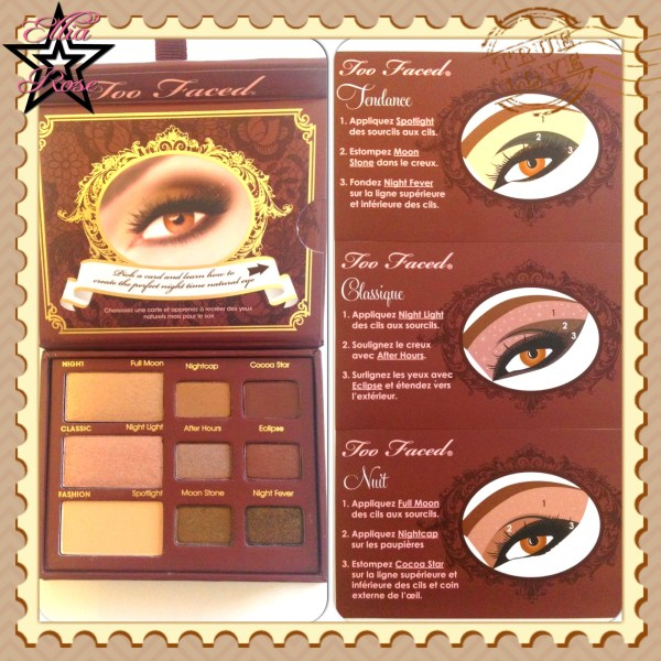 Too Faced - Natural at Night fiches