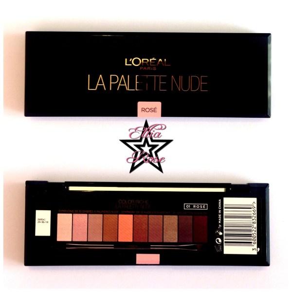 Palettes L'oréal Nude (2)