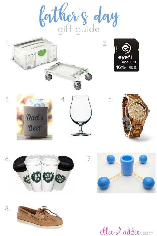 Father's Day Gift Guide | Ellie And Addie