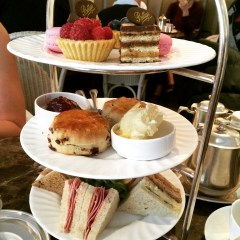 Afternoon Tea at Betty's Tearoom Harrogate