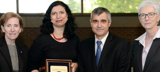 Ελληνίδα βραβεύθηκε ως καθηγήτρια της χρονιάς