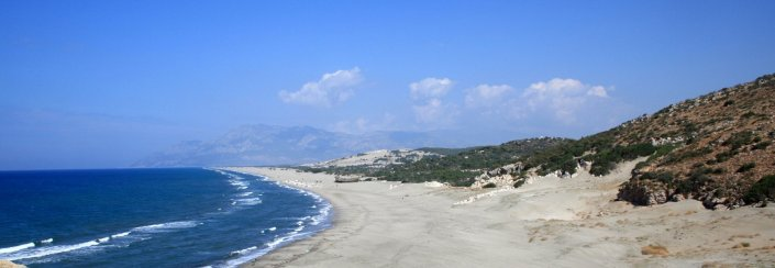 Patara beach, Turkey