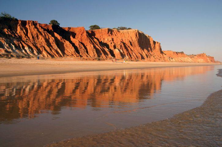 Praia da Falesia - Olhos de Agua, Portugal