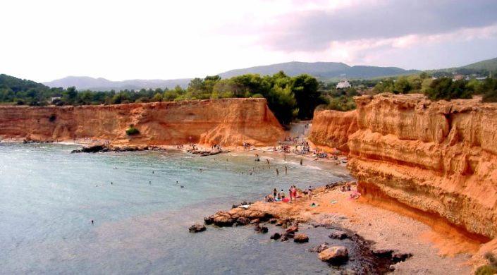 Playa Sa Caleta, Ibiza, Spain