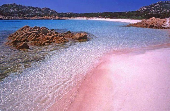 Spiaggia Rosa of Budelli, Sardinia – Italy