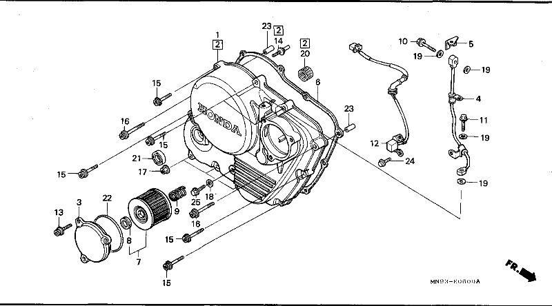 honda bros 650 carburetor diagram