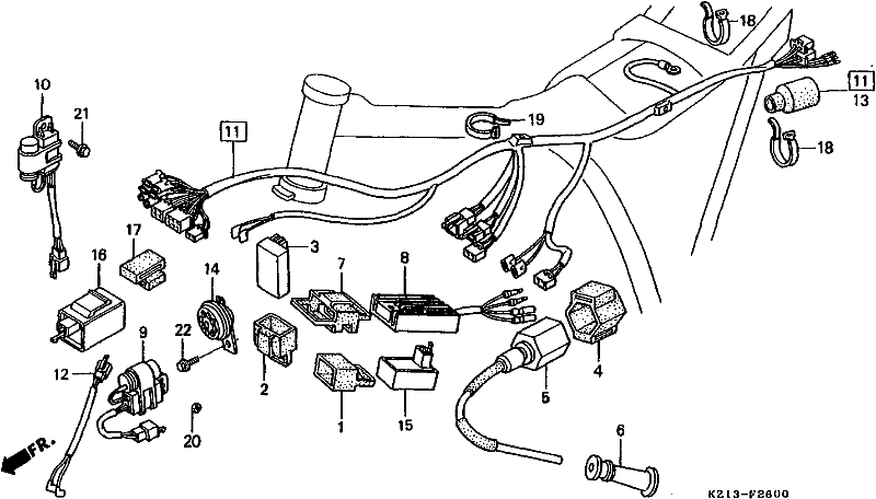 1982 honda xr500r wiring diagram