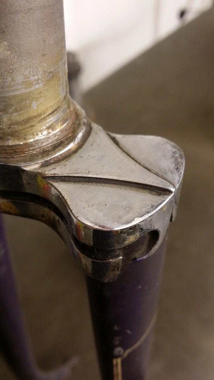 Fork Crown Detail