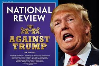 Trump rising: National Review neocons ranting