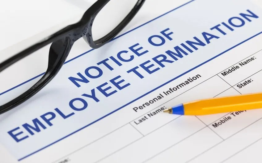 Notice of termination for dismissals and resignations - employee termination guide