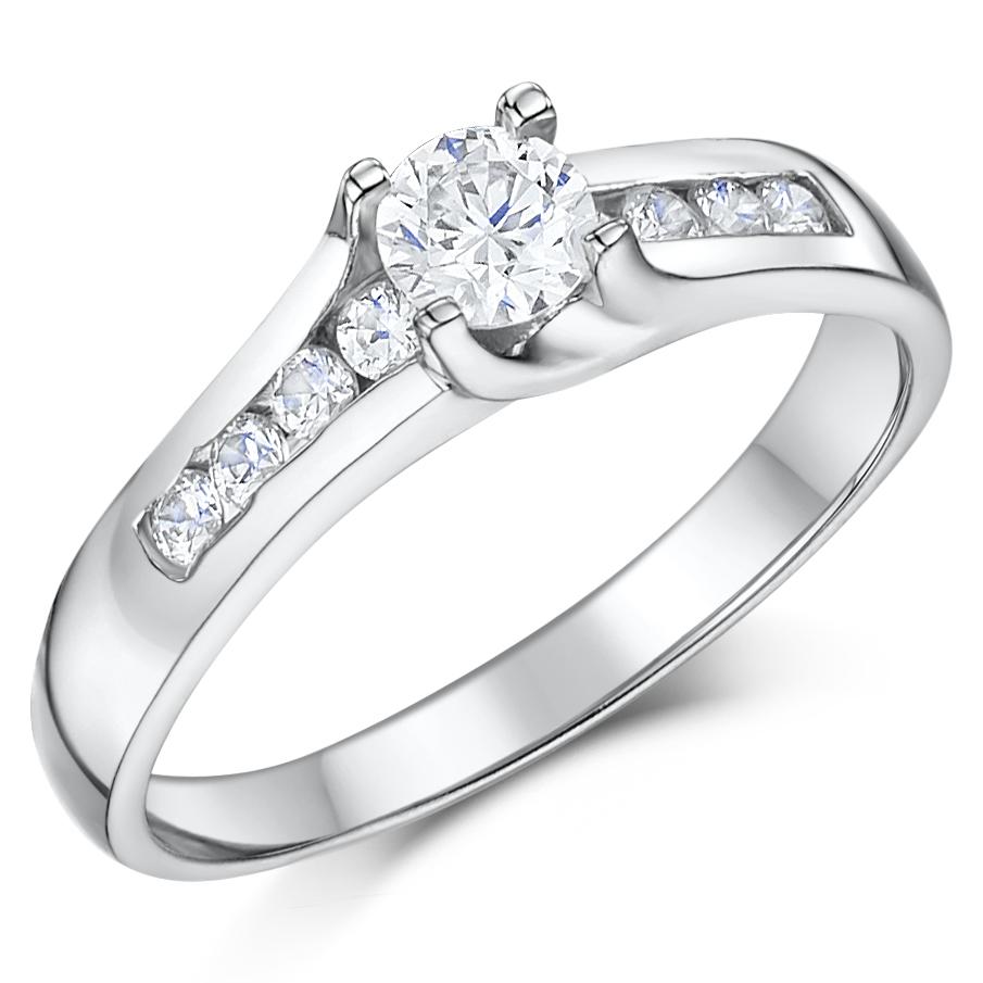 cobalt rings c cobalt wedding rings Cobalt Solitaire Multi Stone Engagement Ring