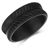 Carbon Fiber Wedding Ring 8mm - Carbon Fiber Rings at Elma ...