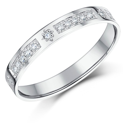 Medium Of Gold Diamond Rings