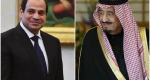 سلمان يؤكد على عمق العلاقات التاريخية بين مصر والسعودية فى المؤتمر الصحفى