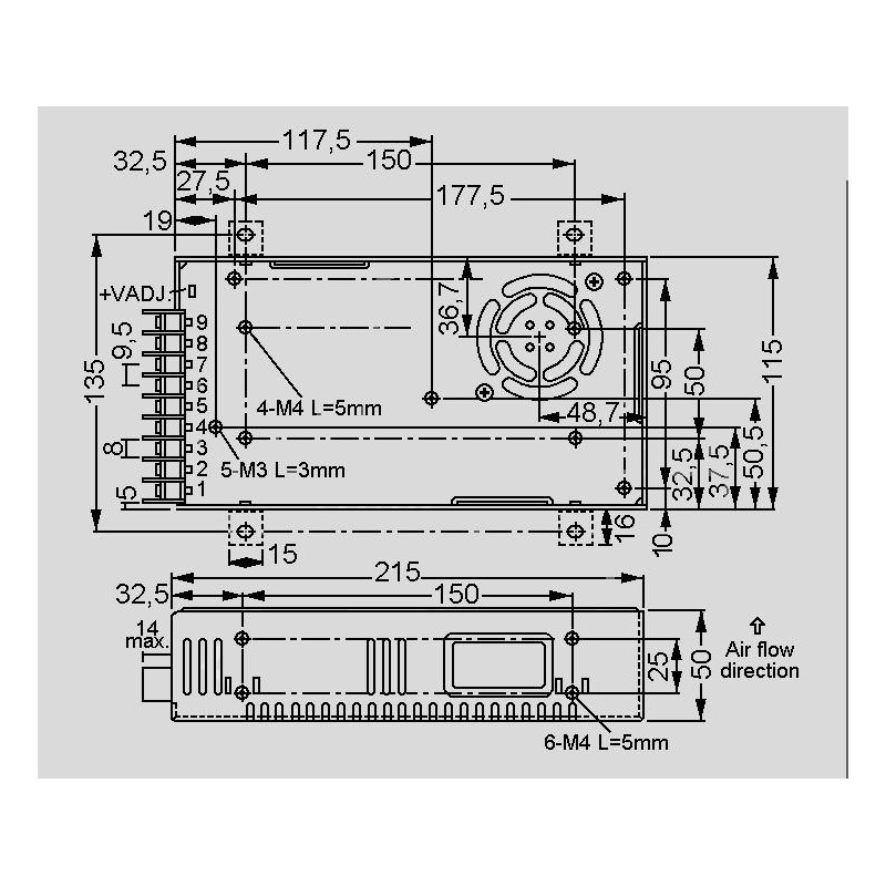 control schematic for spv 300 24 mean well