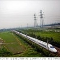 China's huge high speed rail project