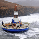 Shell arctic drilling