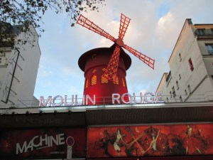 Moulin Rouge, where Henri Toulouse-Latrec found inspiration for his art.