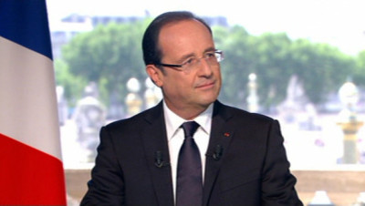 French President Francois Hollande's office sent me a reply to my letter to him telling him how much I would like to teach English in France. I will upload it as I am able.
