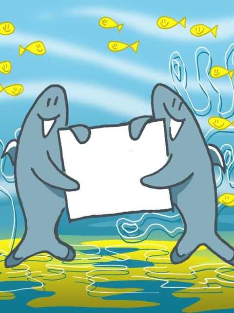 kaartje2go haaiengroet